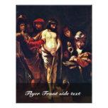 Cristo antes de Pilate de Maes Nicolaes Tarjetas Publicitarias