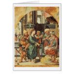 Cristo antes de Pilate Tarjeta De Felicitación