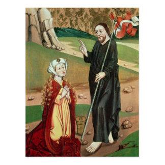 Cristo aparece a Maria Magdalena Tarjetas Postales