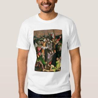 Cristo arrestó en el jardín de Gethsemane Camisas