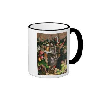 Cristo arrestó en el jardín de Gethsemane Taza De Dos Colores