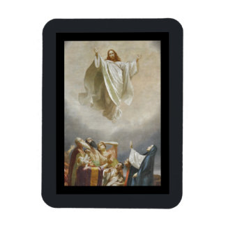 Cristo asciende al cielo por Garofalo Imán Foto Rectangular