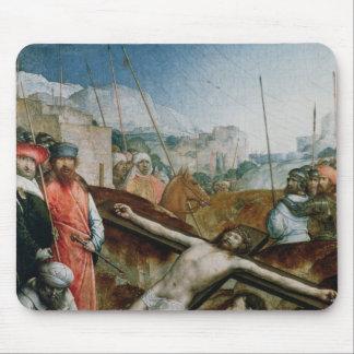 Cristo aumentó en la cruz, 1496-1504 mouse pads