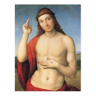 Cristo Benedicente or Christ Blessing Postcard
