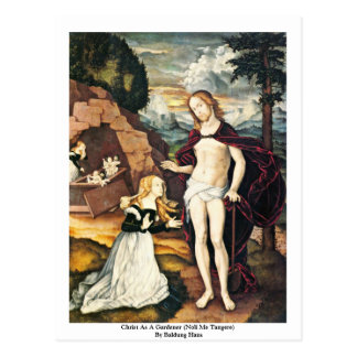 Cristo como jardinero (Noli yo Tangere) Tarjetas Postales