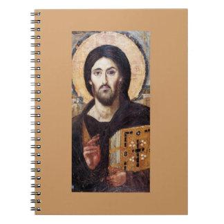 Cristo como regla de todos libro de apuntes con espiral