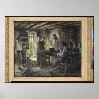 Cristo con el manso 1903-04 impresiones