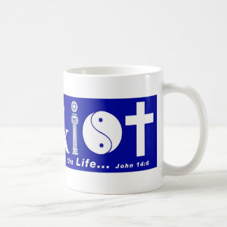 Cristo con el verso 2 taza
