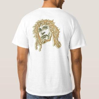 Cristo con la corona de espinas remeras