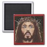 Cristo con la corona del imán de las espinas
