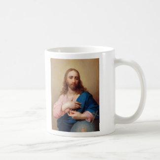 Cristo con un globo de Vladimir Borovikovsky Tazas De Café