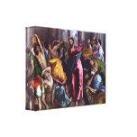 Cristo conduce a distribuidores autorizados del te lienzo envuelto para galerías