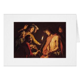 Cristo coronó con las espinas C. 1633-1639 Felicitacion