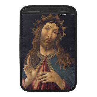 Cristo coronó con las espinas por Botticelli Fundas Para Macbook Air