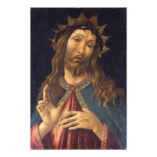 Cristo coronó con las espinas por Botticelli Impresiones Fotográficas