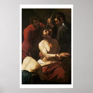 Cristo coronó por las espinas, c.1602 poster