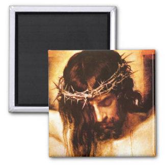 Cristo crucificó imán