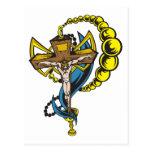 Cristo, crucifijo y taza postales