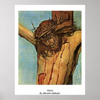 Cristo de Albrecht Altdorfer Poster