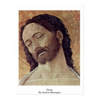 Cristo de Andrea Mantegna Postales