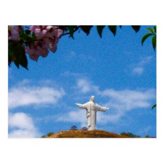 Cristo de Concordia, Cochabamba Bolivia Postal