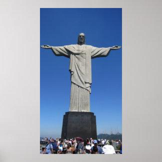 Cristo de los Andes Póster
