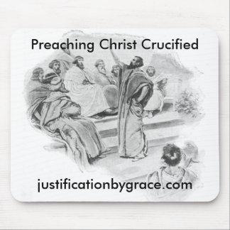 Cristo de predicación crucificó Mousepad Tapete De Raton