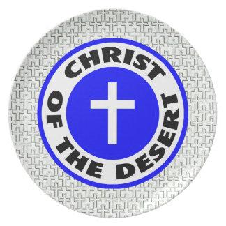 Cristo del desierto plato