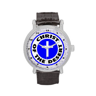 Cristo del desierto reloj de mano