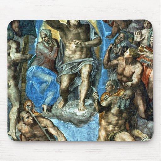 Cristo, detalle 'del Judgement pasado Alfombrilla De Raton