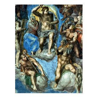 Cristo, detalle 'del Judgement pasado Postal