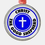 Cristo el buen pastor ornamentos de reyes magos
