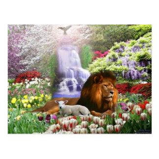 Cristo el cordero de dios tarjetas postales
