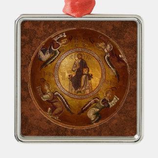Cristo el icono del cristiano de Pantakrator Ornamentos De Reyes