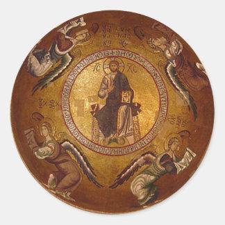 Cristo el icono del cristiano de Pantakrator Etiquetas
