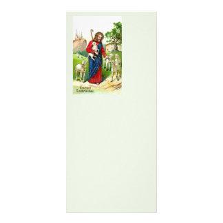 """Cristo el pastor folleto publicitario 4"""" x 9"""""""