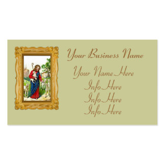 Cristo el pastor tarjetas de visita
