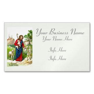 Cristo el pastor tarjetas de visita magnéticas (paquete de 25)