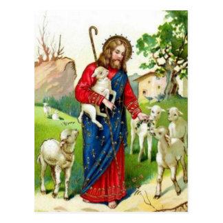 Cristo el pastor tarjetas postales