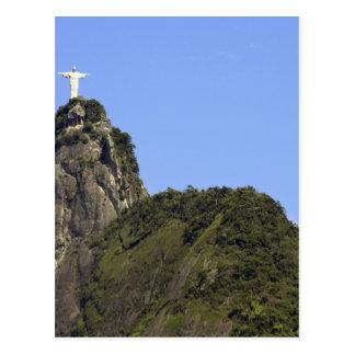 Cristo el redentor 2 tarjetas postales