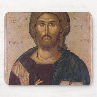 Cristo el redentor, fuente de la vida, c.1393-94 alfombrillas de ratón