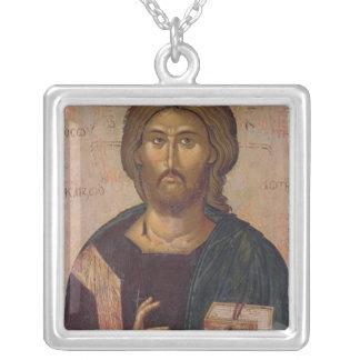 Cristo el redentor, fuente de la vida, c.1393-94 colgante cuadrado