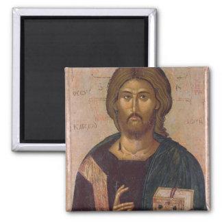 Cristo el redentor, fuente de la vida, c.1393-94 imán cuadrado