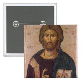 Cristo el redentor, fuente de la vida, c.1393-94 pin cuadrado
