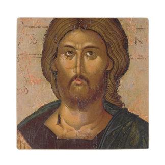Cristo el redentor, fuente de la vida, c.1393-94 posavasos de madera
