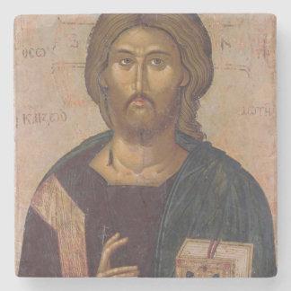 Cristo el redentor, fuente de la vida, c.1393-94 posavasos de piedra