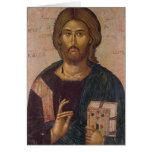 Cristo el redentor, fuente de la vida, c.1393-94 felicitación