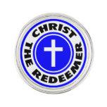 Cristo el redentor insignia