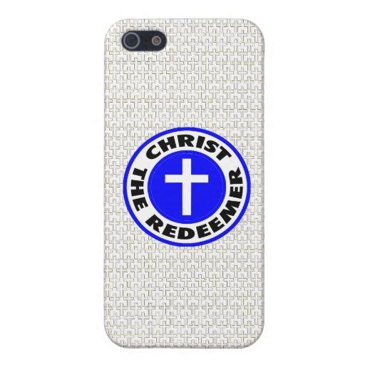 Cristo el redentor iPhone 5 carcasa