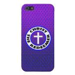 Cristo el redentor iPhone 5 fundas